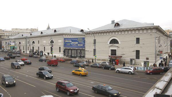 Здания «Провиантских складов» на Зубовском бульваре. Архив