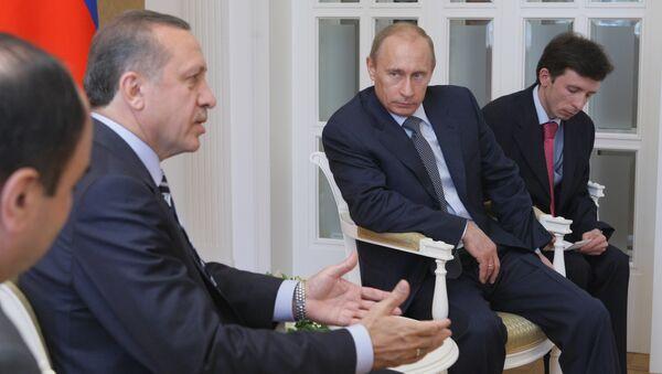 Встреча Владимира Путина и Реджепа Тайипа Эрдогана в Сочи