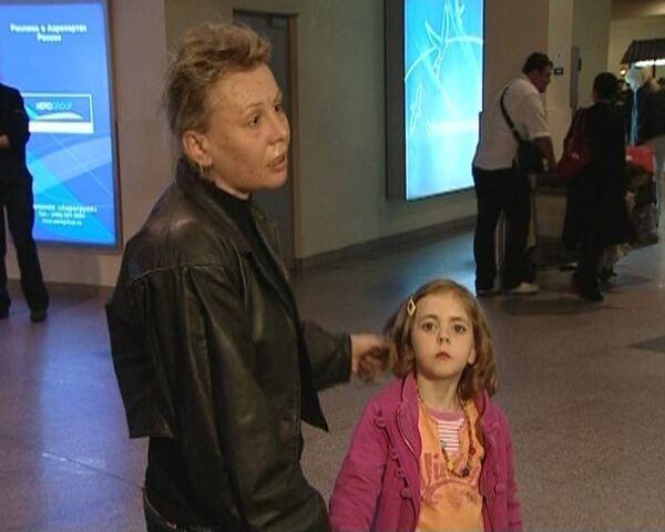 Россиянка, отсудившая в Португалии дочь, вернулась с ребенком в Россию
