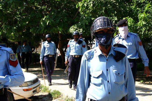 Полицейские в Исламабаде. Архив