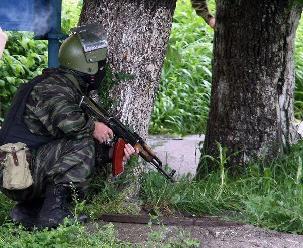 Группа из 20 боевиков блокирована в Ингушетии