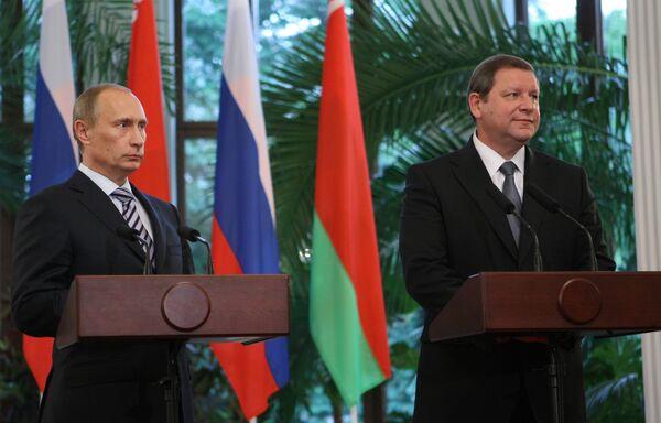 Премьеры РФ и Белоруссии обсудят торгово-экономические отношения