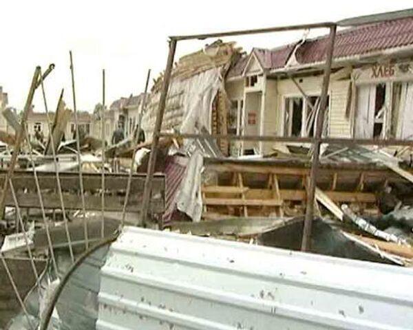 Краснозаводск после смерча: декорации к фильму-катастрофе