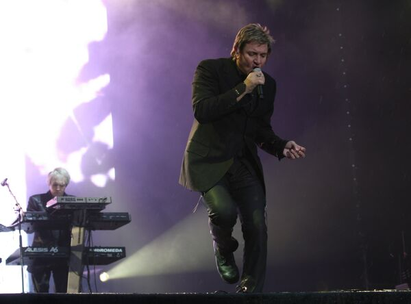 Концерт группы Duran Duran на Дворцовой площади в Санкт-Петербурге