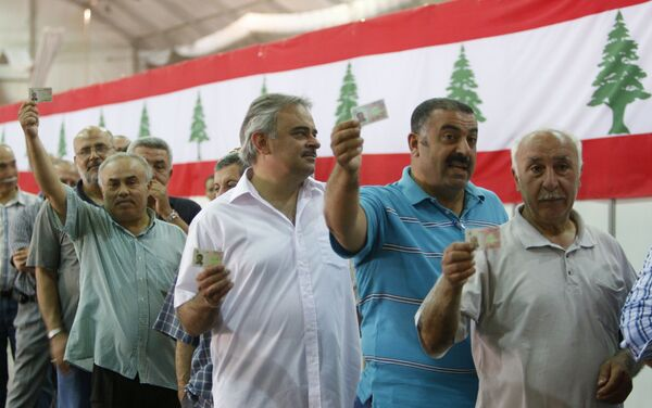 Выборы в Ливане