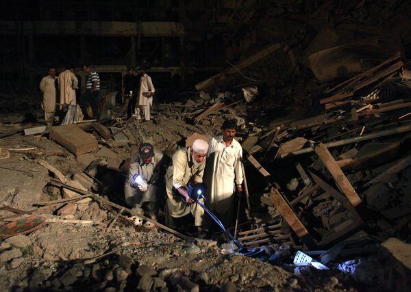 Взрыв в Пешаваре прогремел вблизи пятизвездочного отеля Pearl Continental