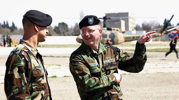 Американские военные инструкторы. Архивное фото