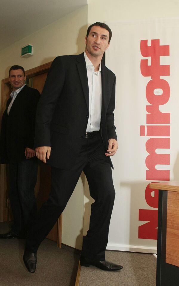 Чемпион мира по боксу Владимир Кличко