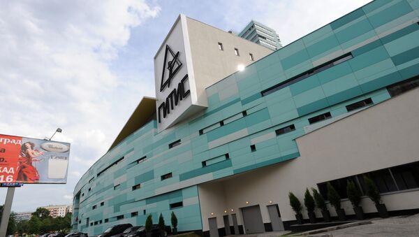 Новое здание учебного театра ГИТИСа. Архивное фото