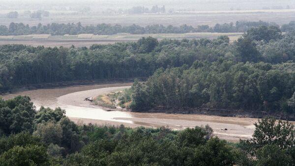 Вышедшие из берегов реки на Кубани
