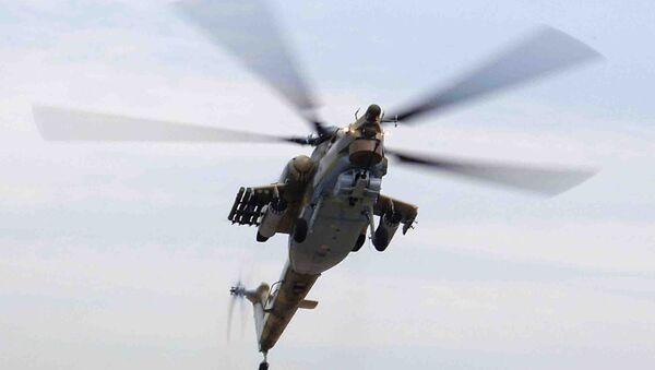 Боевой вертолёт Ми-28 (Ночной охотник). Архив