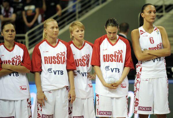 Чемпионат Европы по баскетболу среди женщин. Финал. Россия – Франция. 53:57