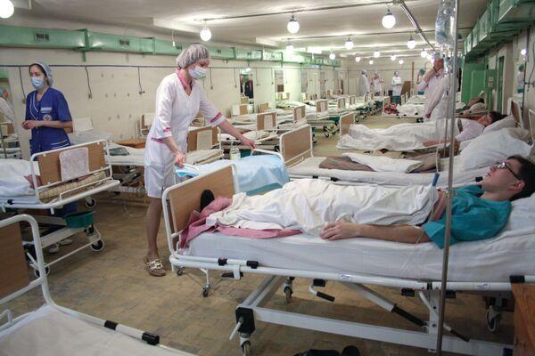 В одной из российских больниц. Архив