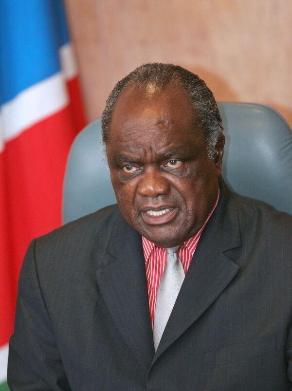 Президенты России и Намибии проводят приступили к переговорам
