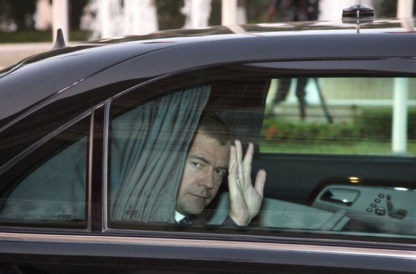 Дмитрий Медведев в Луанде