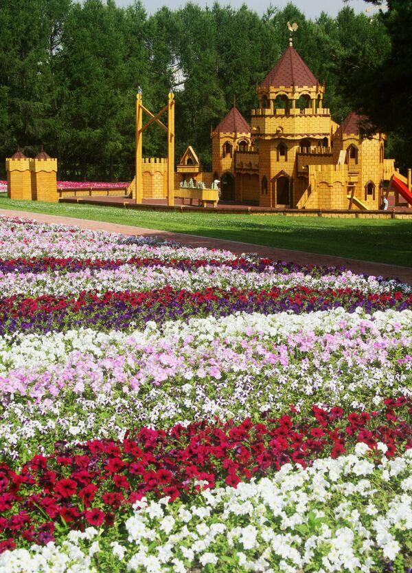 Фестиваль цветников и ландшафтной архитектуры в Москве. Архив