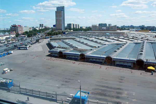 Работа Черкизовского рынка остановлена.