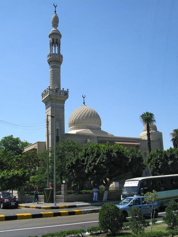 Виды египетской столицы Каира. Архив