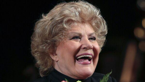 Елена Образцова в Большом театре отметила 45-летие творческой деятельности