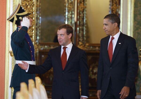 Российско-американские переговоры в Кремле