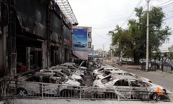 Беспорядки в Китае