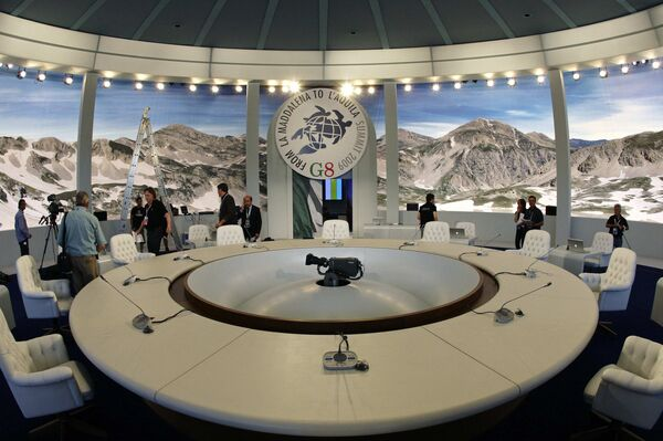 Саммит G8 в Аквиле