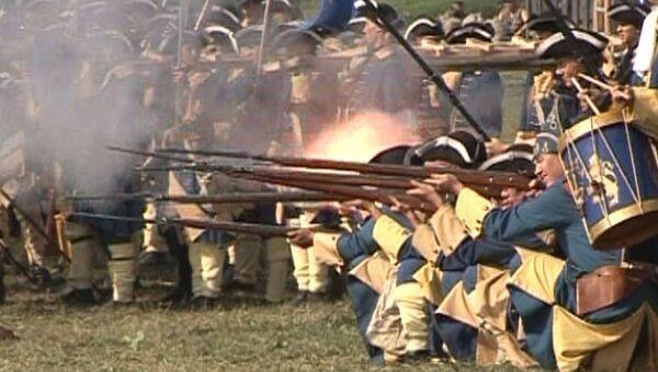 Полтавская баталия. Битву 1709 года воссоздали в Коломенском