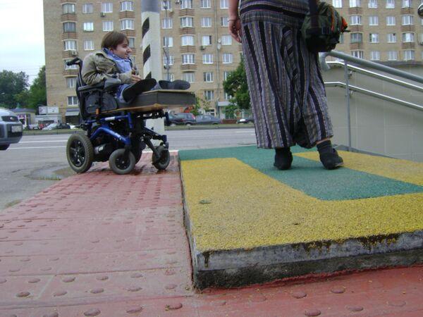 Коллекция неудачно адаптированных переходов Москвы