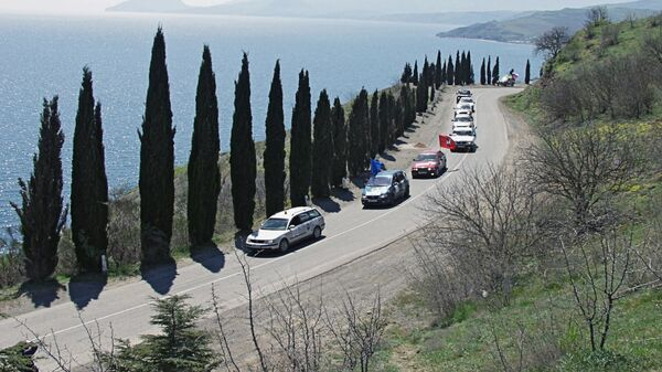 Дорога вдоль Черноморского побережья. Архивное фото