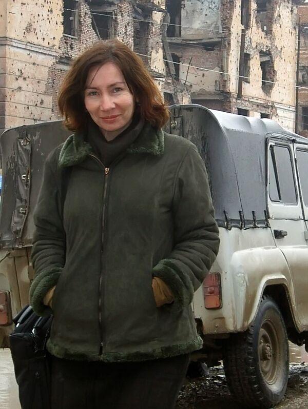 Правозащитница Наталья Эстемирова. Архив