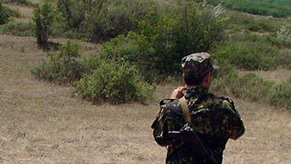 Сотрудники правоохранительных органов Дагестана и бойцы внутренних войск МВД РФ