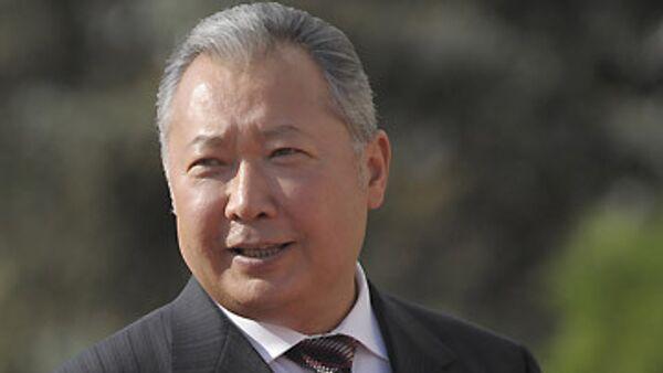 Президент Киргизии Курманбек Бакиев. Архив