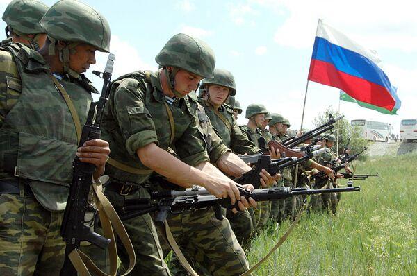 Генеральная репетиция совместных антитеррористических учений Мирная миссия-2009 . Архив