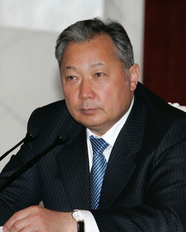 Инаугурация президента Бакиева пройдет в столице Киргизии