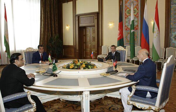 Афганская «четверка» в Душанбе