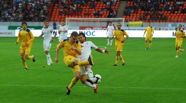 Игровой момент матча Локомотив - Ростов