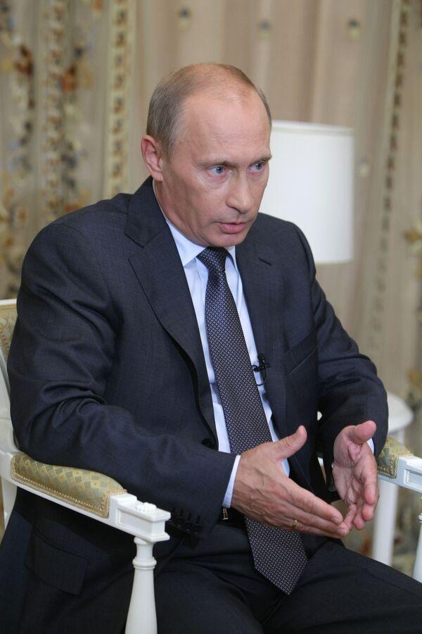 Премьер-министр РФ В.Путин ответил на вопросы журналистов в Сочи