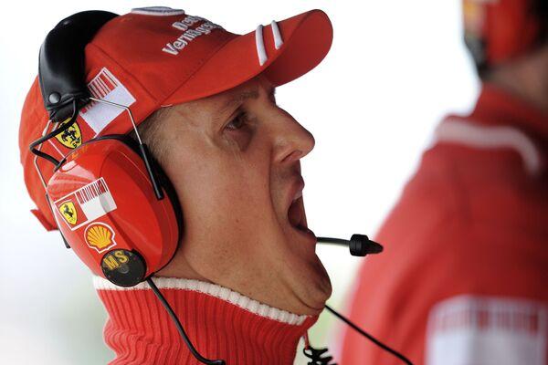 Семикратный чемпион Формулы-1 Михаэль Шумахер