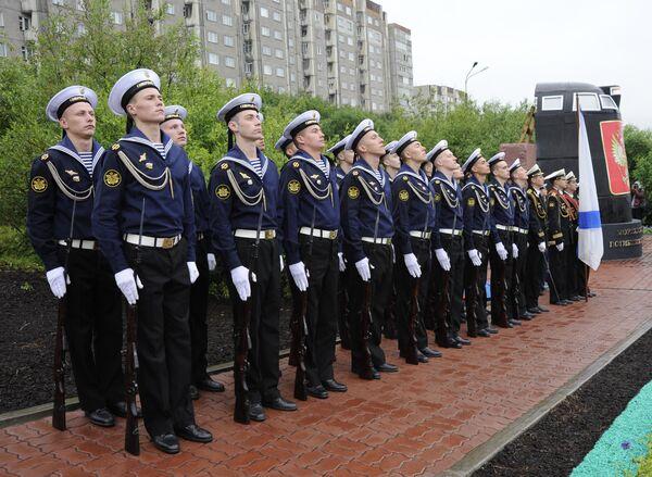 Памятник Морякам-подводникам, погибшим в мирное время открыт в Мурманске