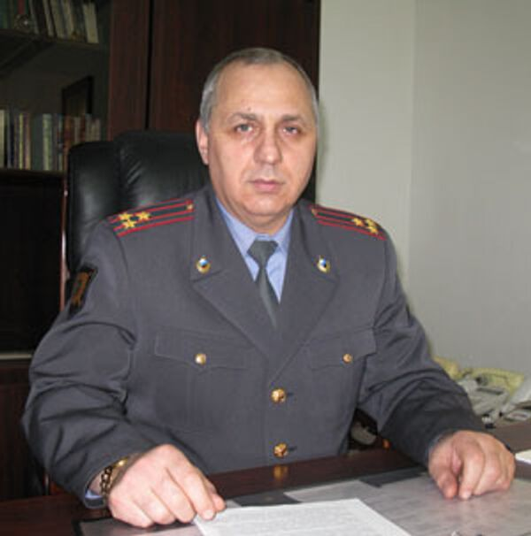Глава МВД Ингушетии Руслан Мейриев