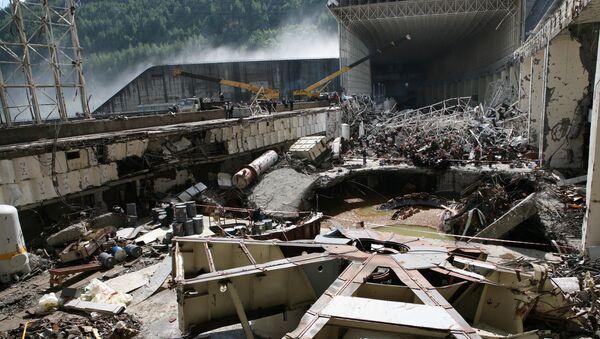 Продолжается разбор завалов на Саяно-Шушенской ГЭС
