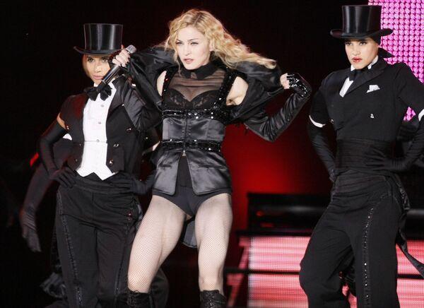 Выступление певицы Мадонны в Варшаве