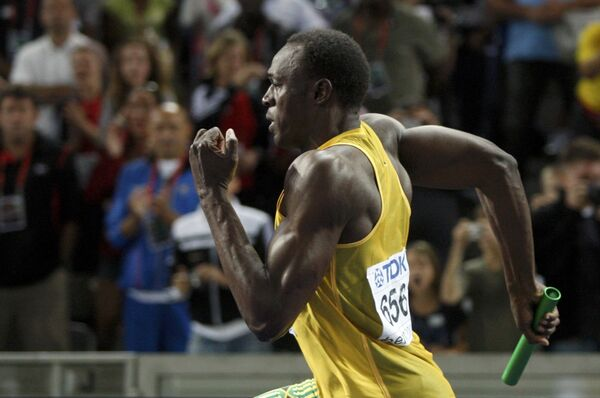 Ямайский спринтер Усэйн Болт