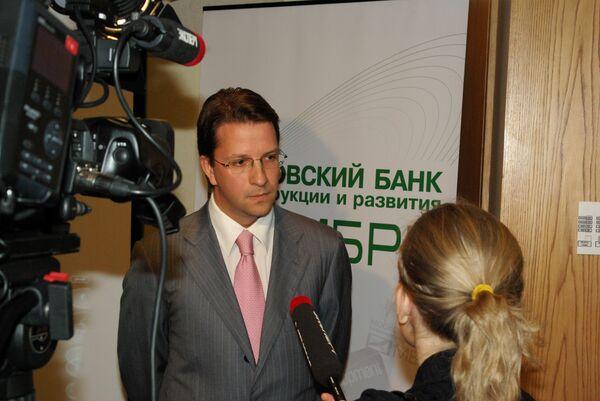 Сергей Яковлевич Зайцев, председатель правления Московского банка реконструкции и развития