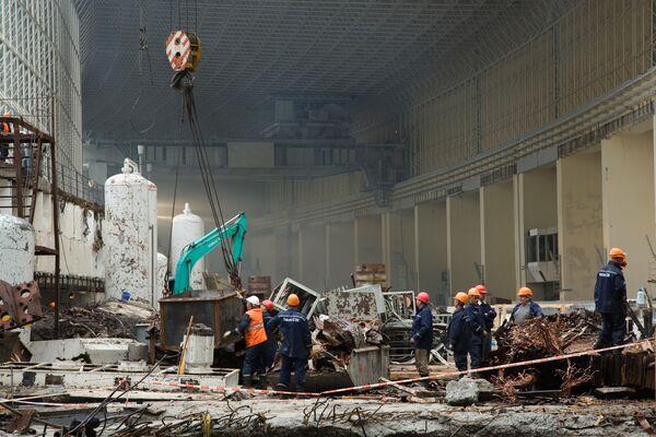 Саяно-Шушенская ГЭС, где произошла авария.