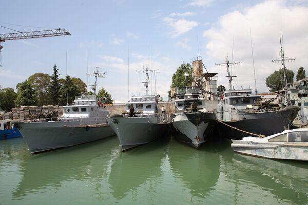 Катера ВМФ Абхазии
