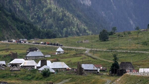 Военный конфликт в Южной Осетиию. Архив