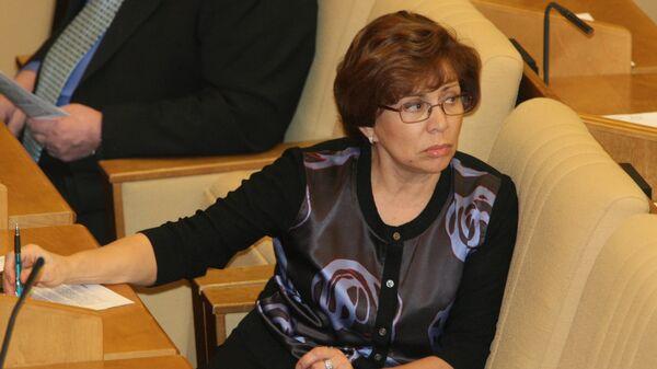 Заместитель председателя Комитета ГД по образованию Ирина Роднина. Архивное фото