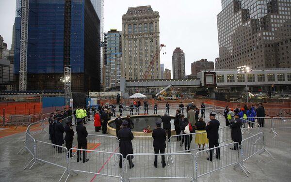 Годовщина терактов в Нью-Йорке 11 сентября