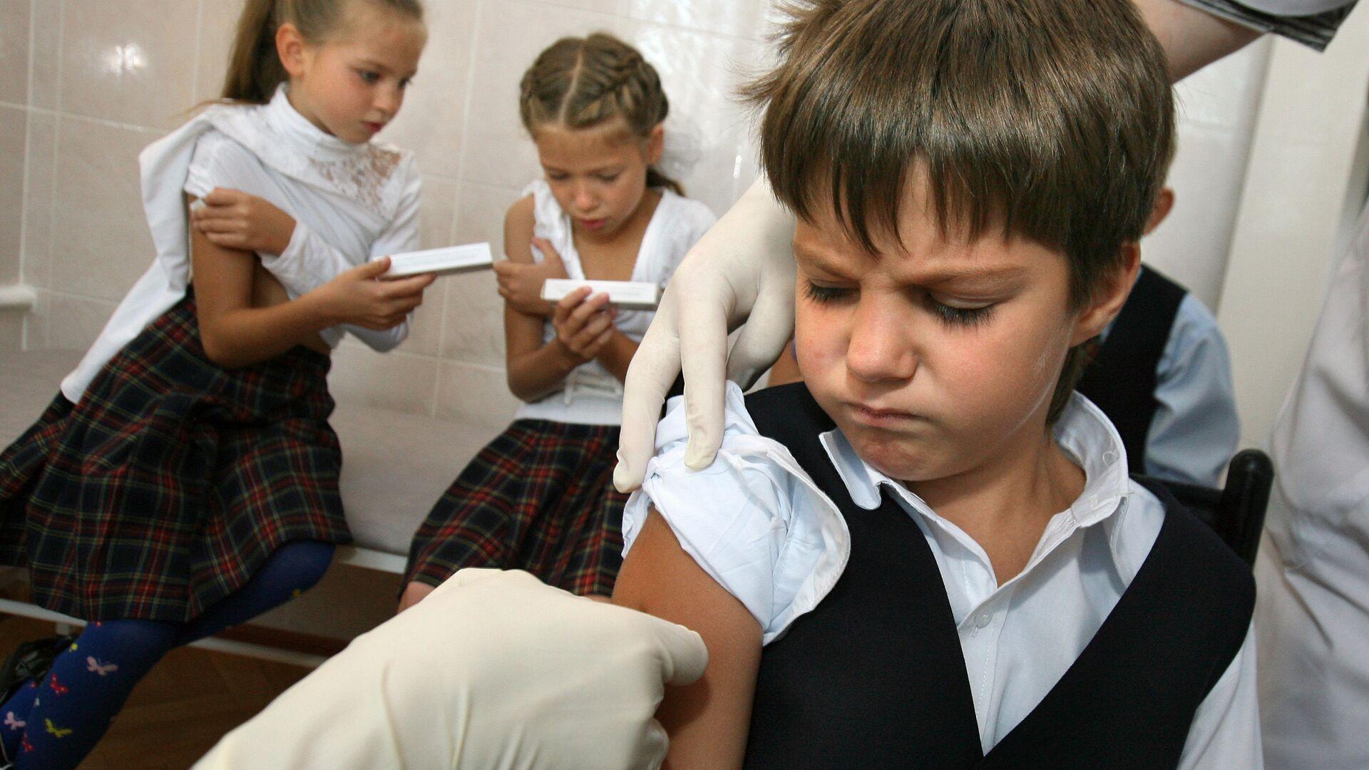 Вакцинация детей от гриппа - РИА Новости, 1920, 16.09.2020